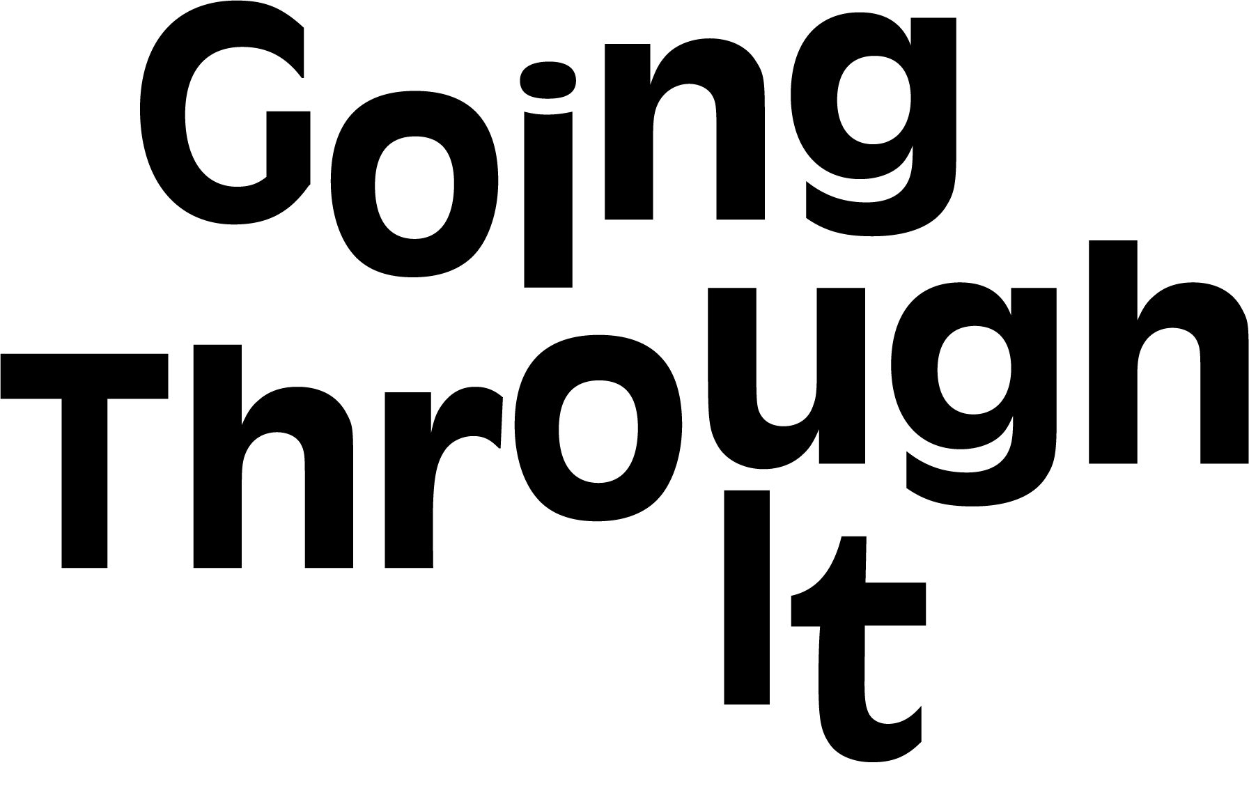 Going Through It  logo