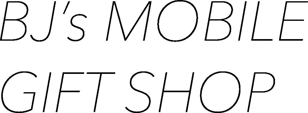 BJ's Mobile Gift Shop logo