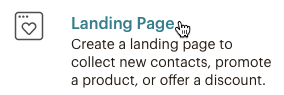 create-landing-page