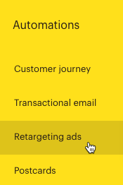 Cursor Clicks - Retargeting Ads