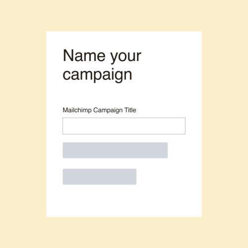 Zendesk- Name your campaign