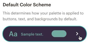 create-website-choose-default-color-scheme