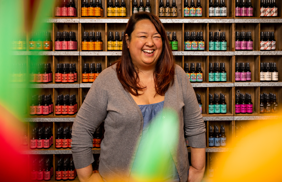 Photo of Owner Kim Wong