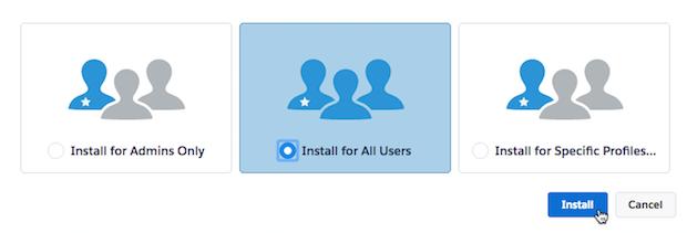 Cursor clicks install.