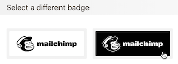 choose monkeyrewards badge