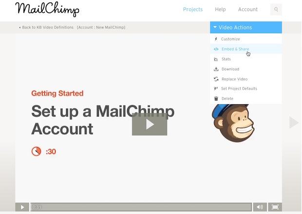 Mailchimp kb