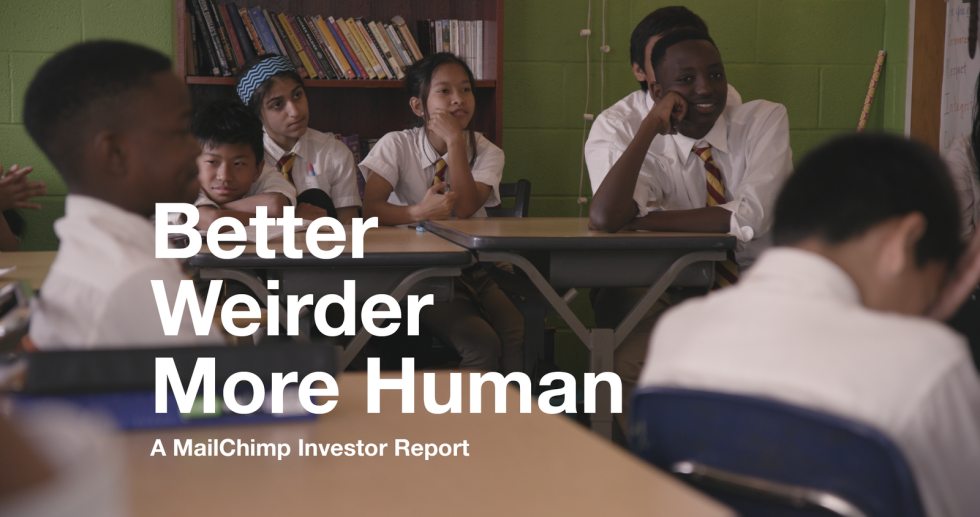 Hero image for Investor Relations at MailChimp
