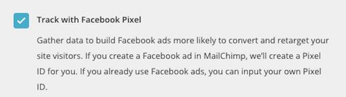 Éditeur de pages d'envoi - TrackwithFacebookPixel (Suivre avec le pixel Facebook)
