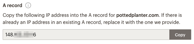 connect-domain-a-record