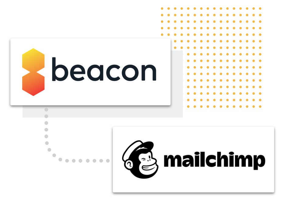Image of Connection between Beacon and Mailchimp