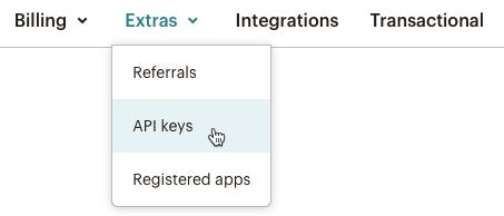 Cursor Clicks - API keys