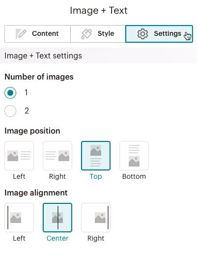 bloquedecontenido-imagen+texto PestañaOpciones