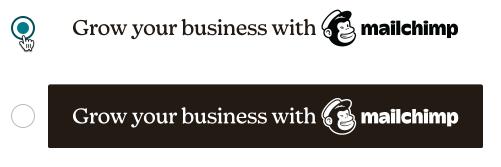 badge de parrainage d'une campagne par e-mail