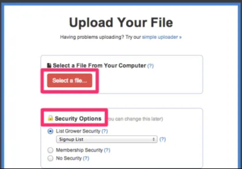 Image of Digioh Upload your file uploader.