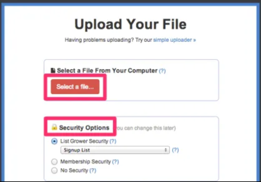 Image of Digioh Upload your file uploader.
