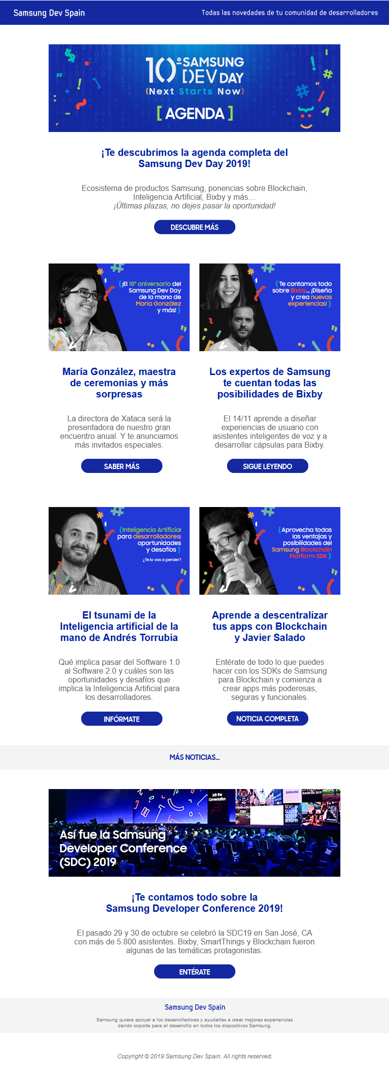 Image of Samsung Dev Team campaign