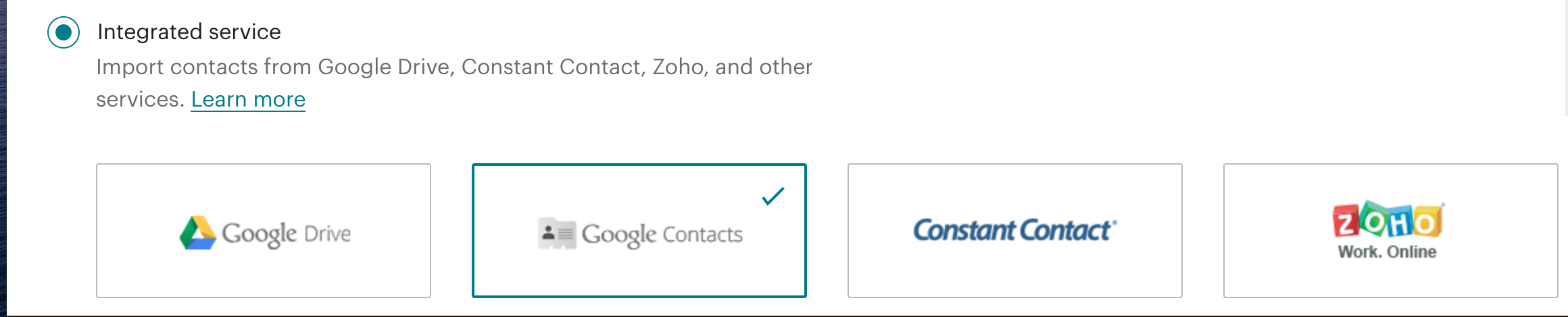 Integrate-Google-Contacts