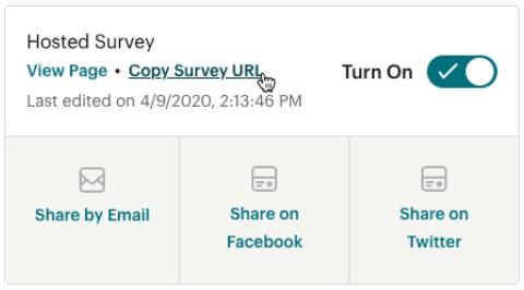 Hosted-survey-publish