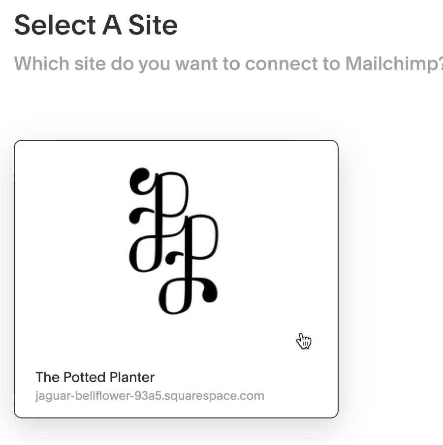 Select-Squarespace-Store