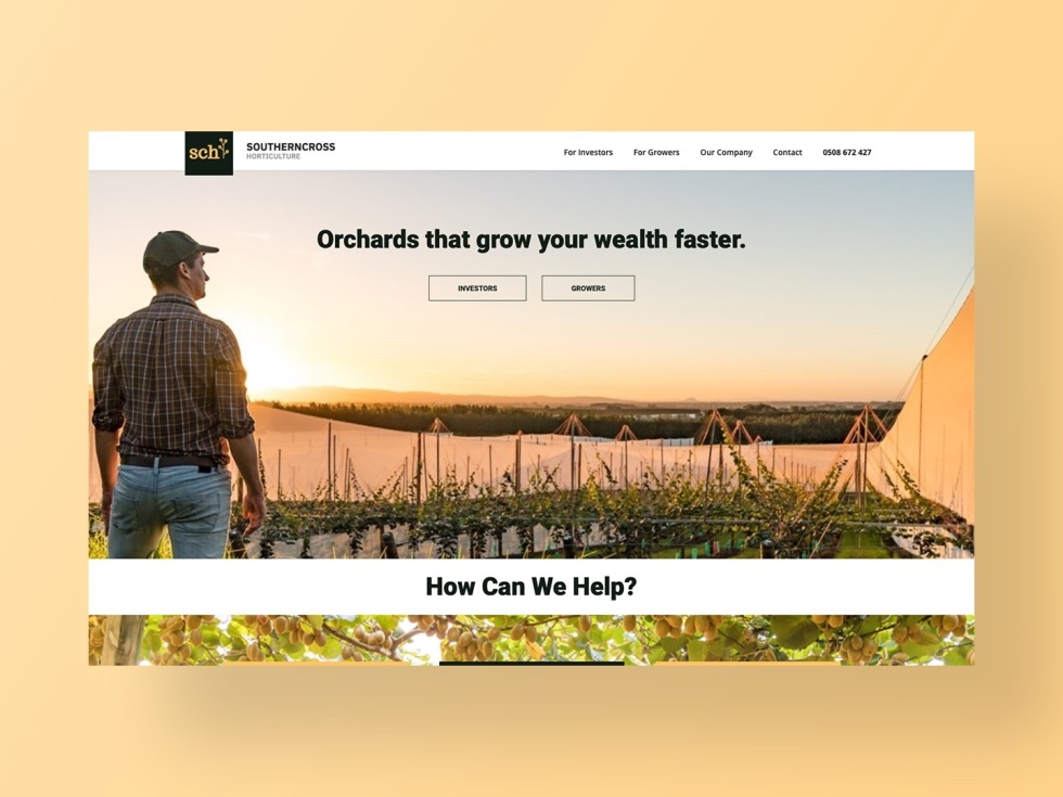 Southern Cross Horticulture Website