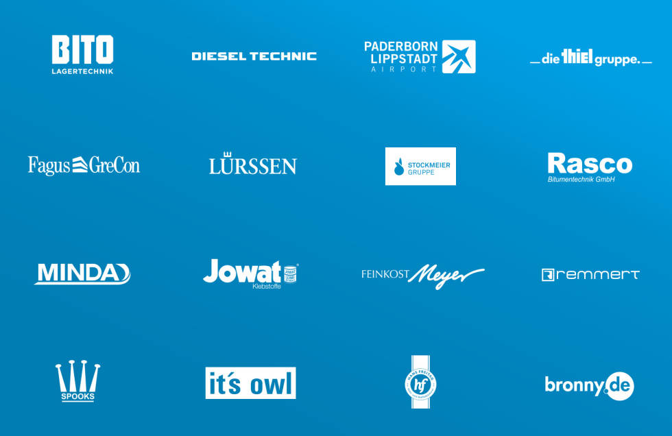 Image showing logos of companies that have worked with Louis-Internet