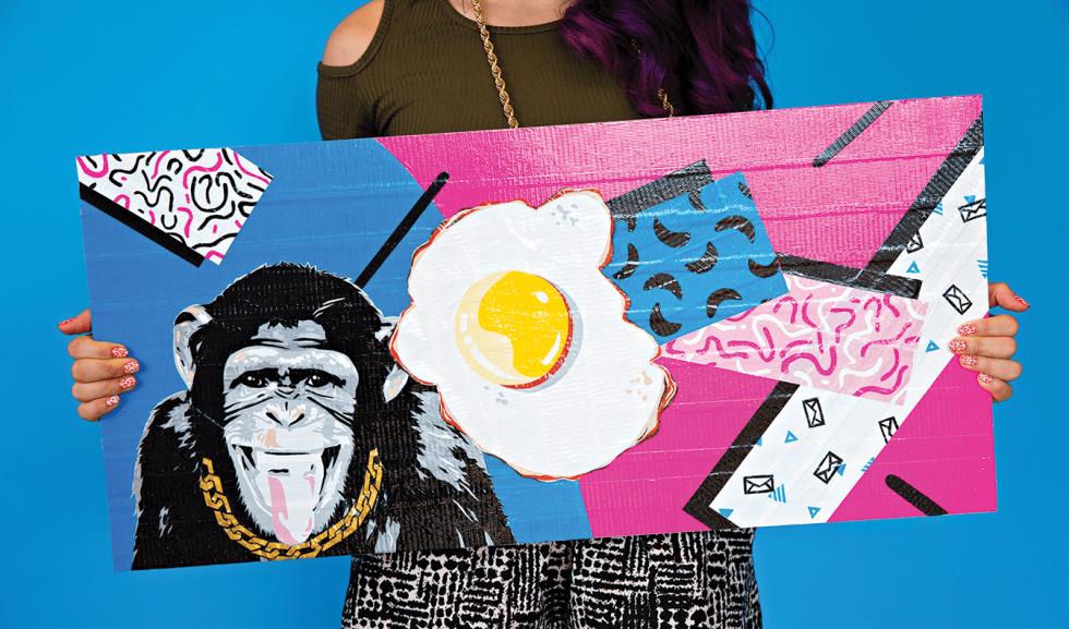 Hero image for Billboard Artist Spotlight: How Leah Abucayan Keeps It Weird with Duct Tape