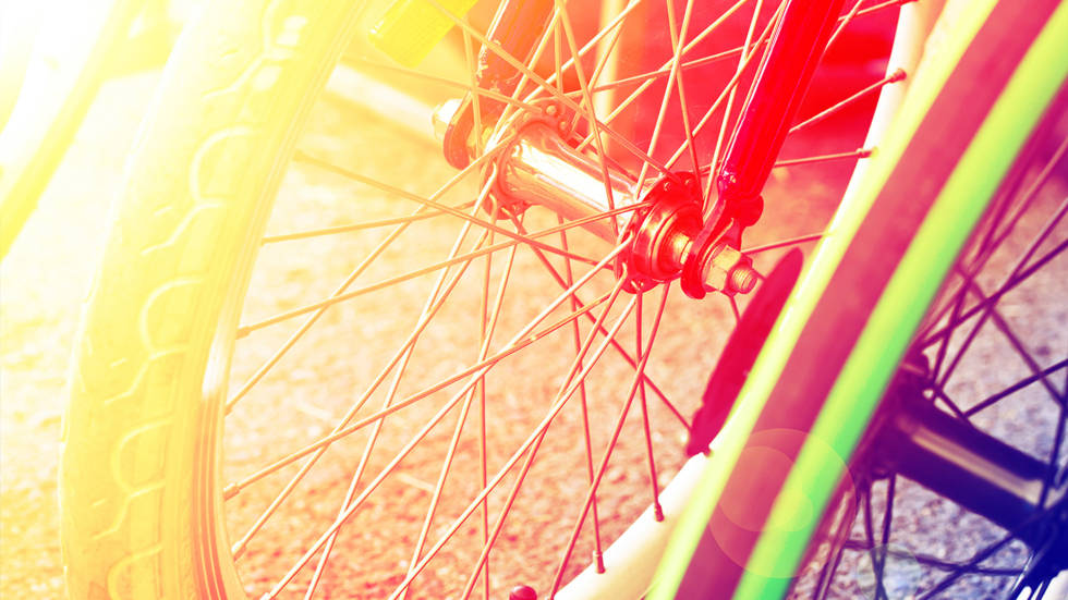 Image of a bicycle wheel