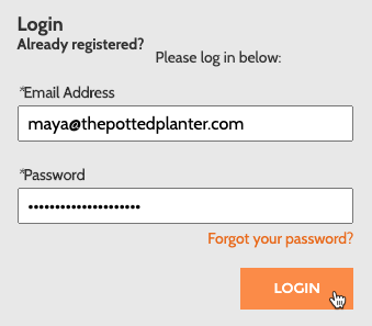 Cursor Clicks - Login - Mailchimp for Magento