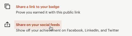 Cursor Clicks - Social Feed share- Mailchimp & Co