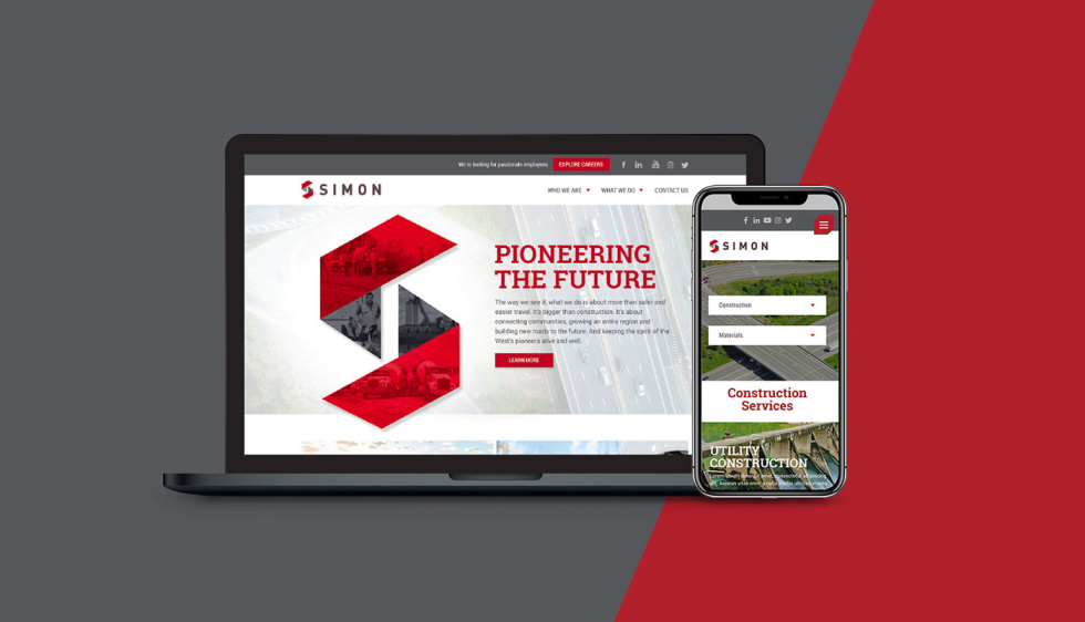 Simon Construction Services - Website Design and Development