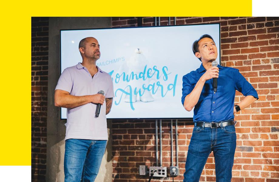 Mailchimp's Co-Founders: Ben and Dan