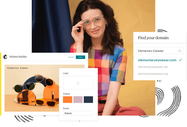 A look at Mailchimp's Website building tools