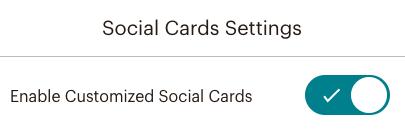 cb-social card settings (paramètres social card)-activer
