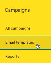 Cursor Clicks - Email templates