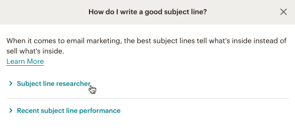 click subject line researcher