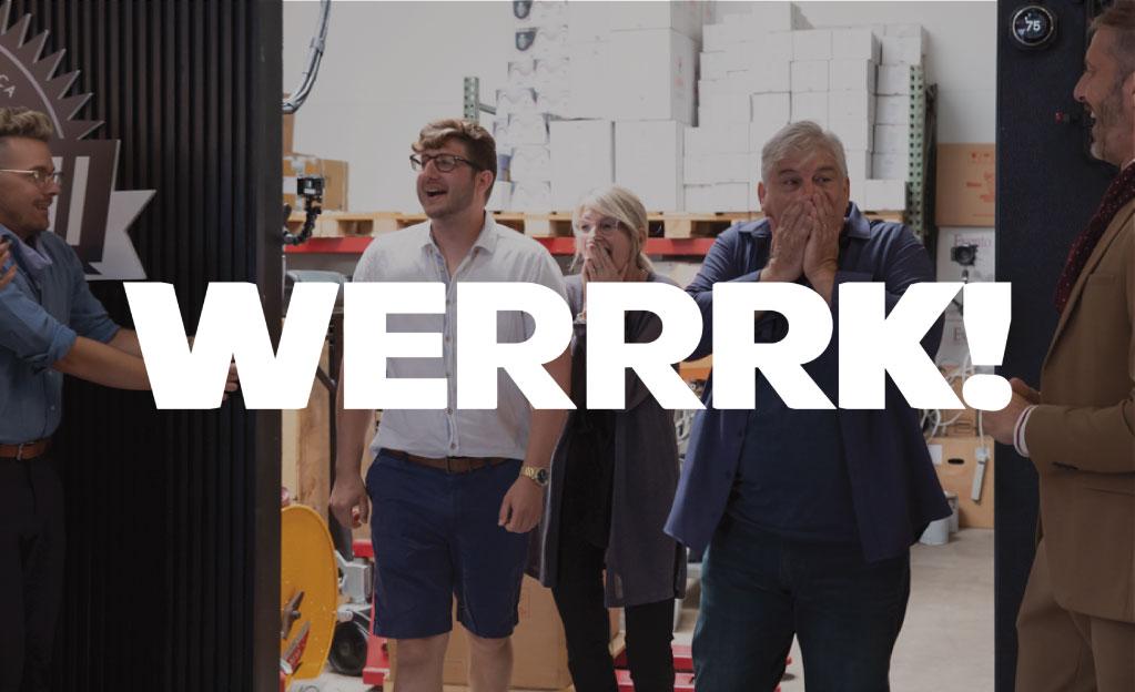 WERRRK!