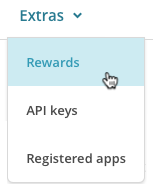 MonkeyRewards Menu