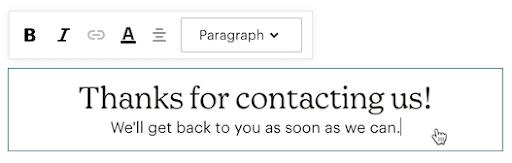 contact-form-customization-text-box
