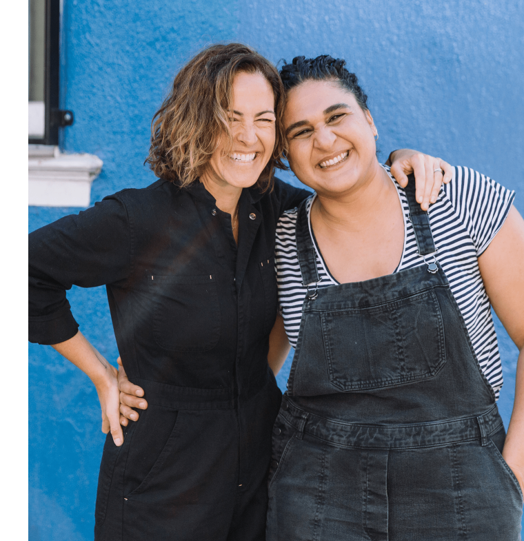 Wendy MacNaughton and Samin Nosrat