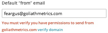 You must verify your have permissions to send error message