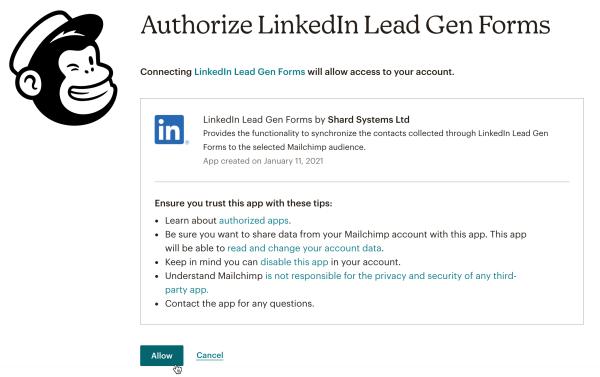 LinkedIn MC Allow