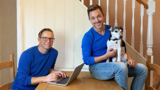 Tim and Michael Sitwell-Mogridge are the owners of Stretch & Flex.