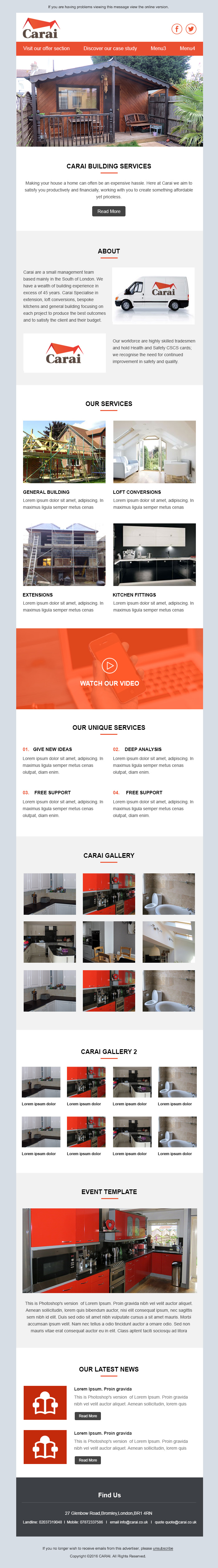 Carai website