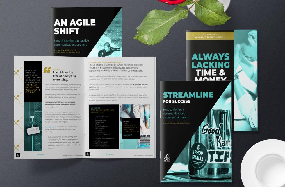 Image of brochures