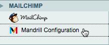 click mandrill configuration
