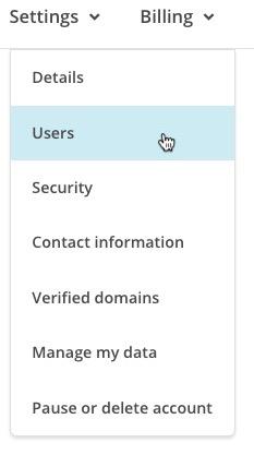 Cliquez sur modifier pour l'utilisateur dont vous souhaitez modifier les niveaux.