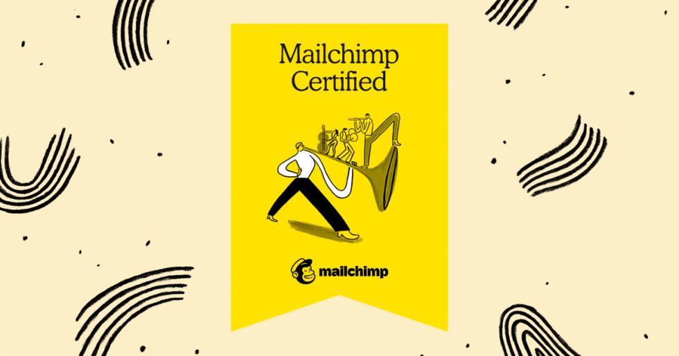 Mailchimp certification badge