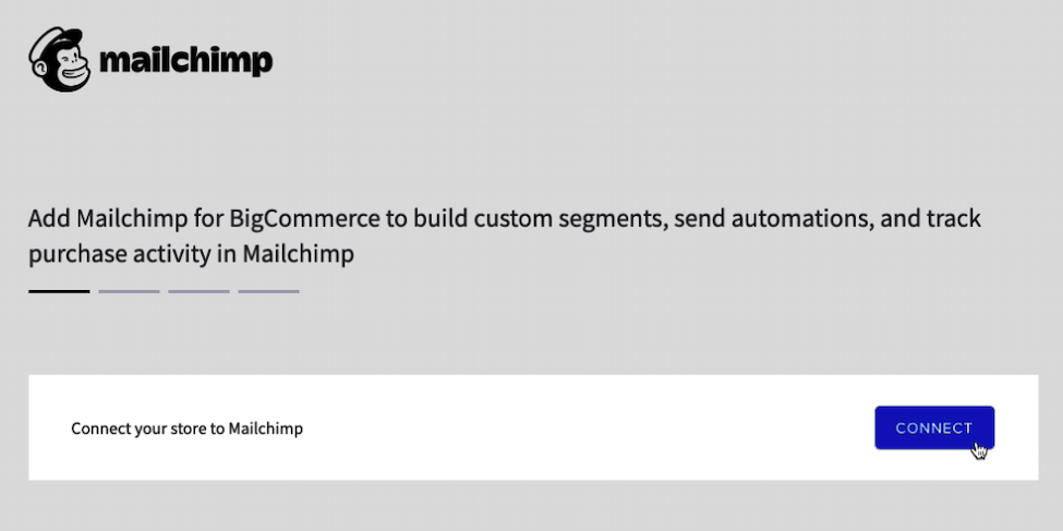 Mailchimp for BigCommerce - Cursor Clicks Connect