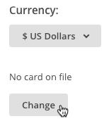 cambiar tarjeta para el método de pago