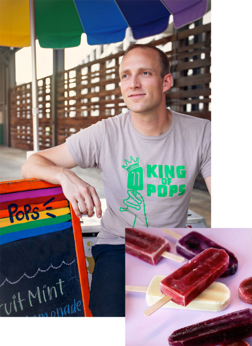Steven Carse, co-founder of King of Pops